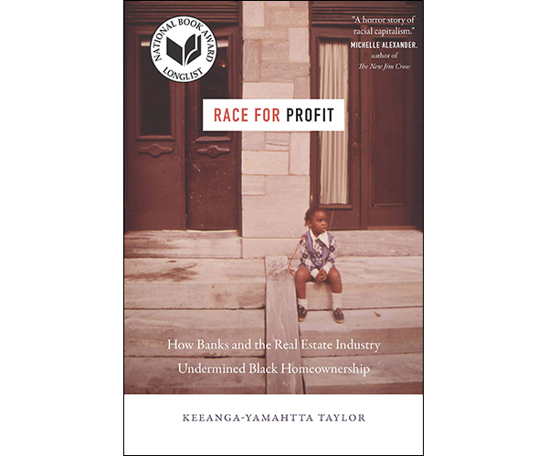 "Book cover: ""Race for Profit"" by Keeanga-Yamahtta Taylor"