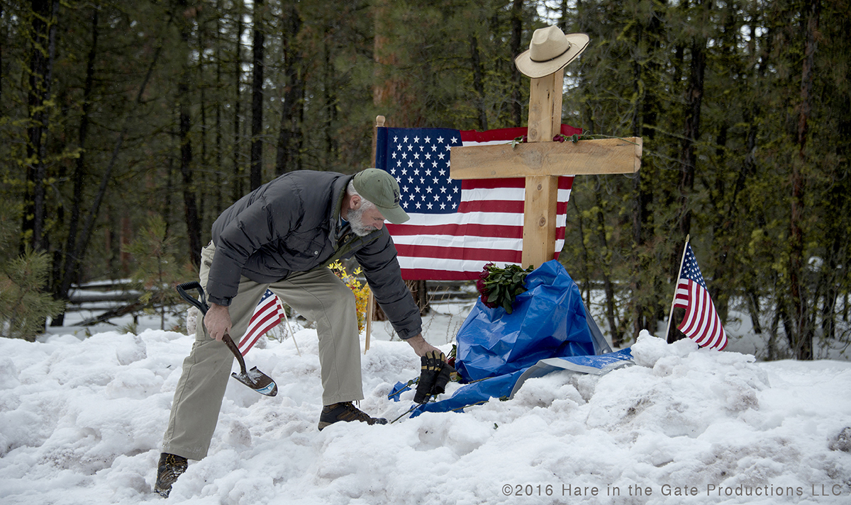 LaVoy Finicum memorial