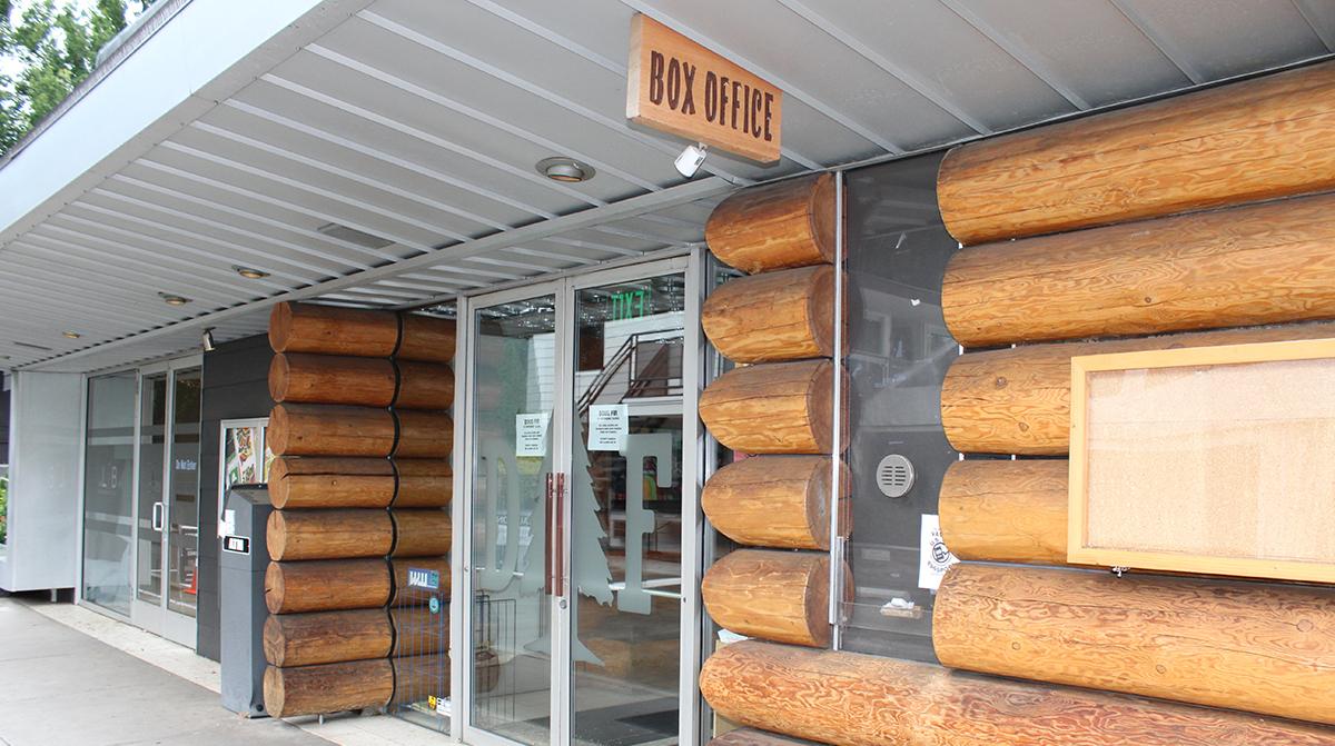 Exterior of Doug Fir's box office
