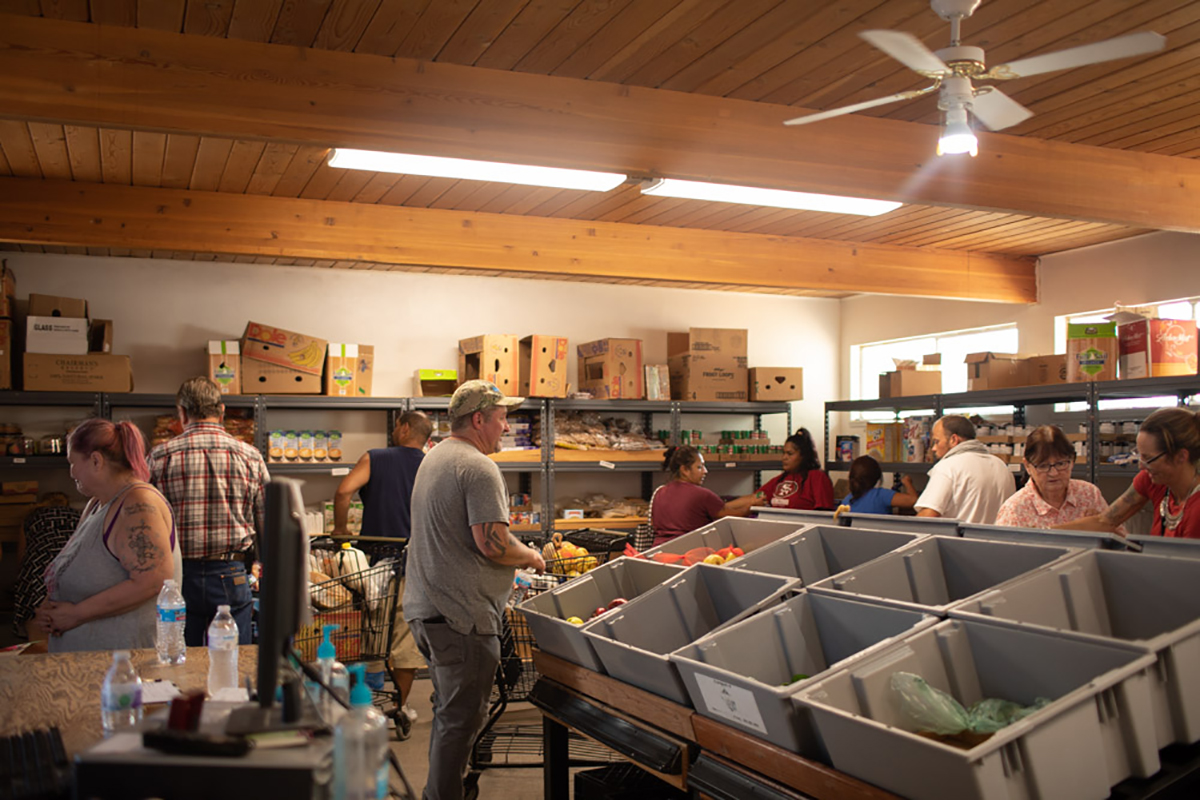 Next Chapter food pantry