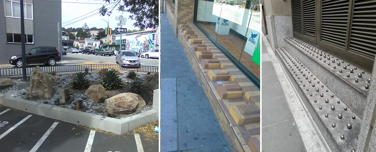 Examples of hostile architecture