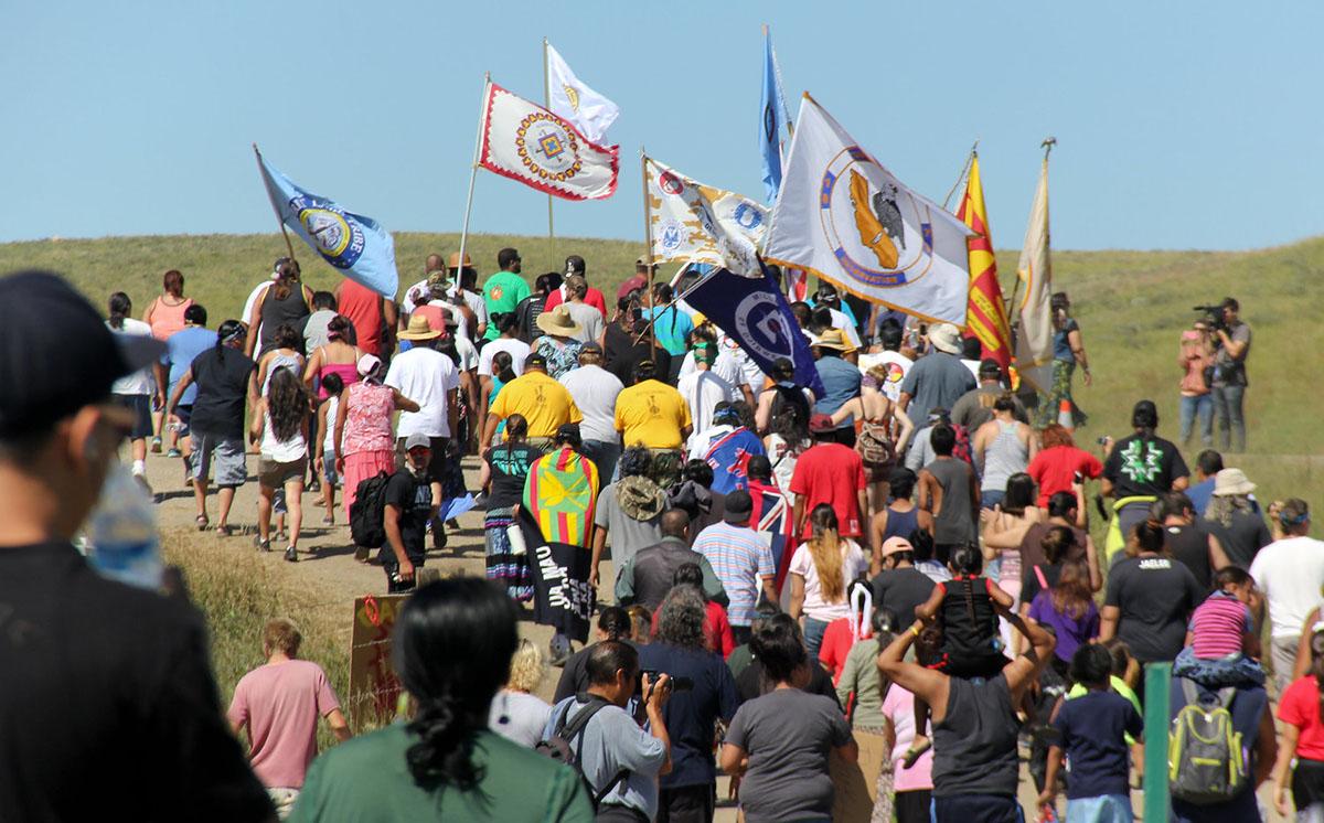 Standing Rock prayer walk