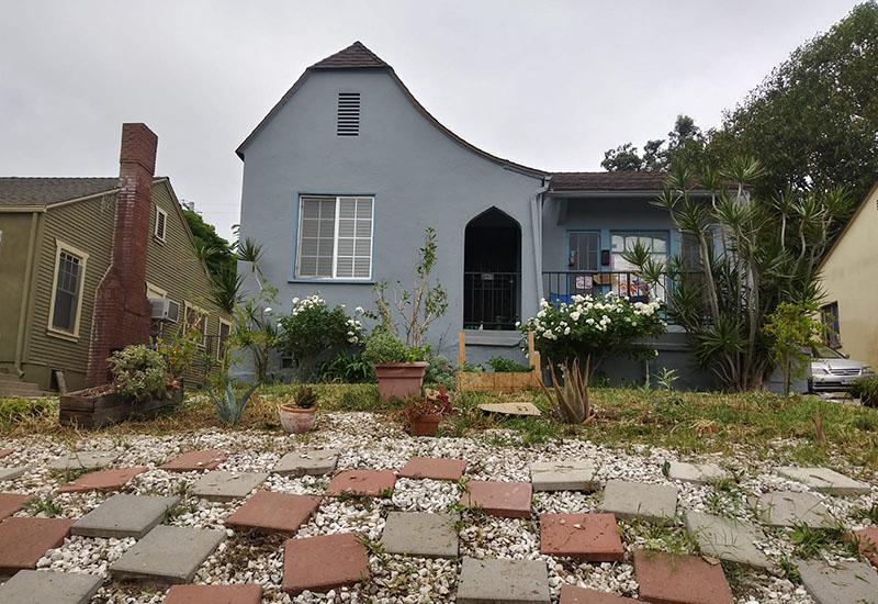 A home in El Sereno, Los Angeles