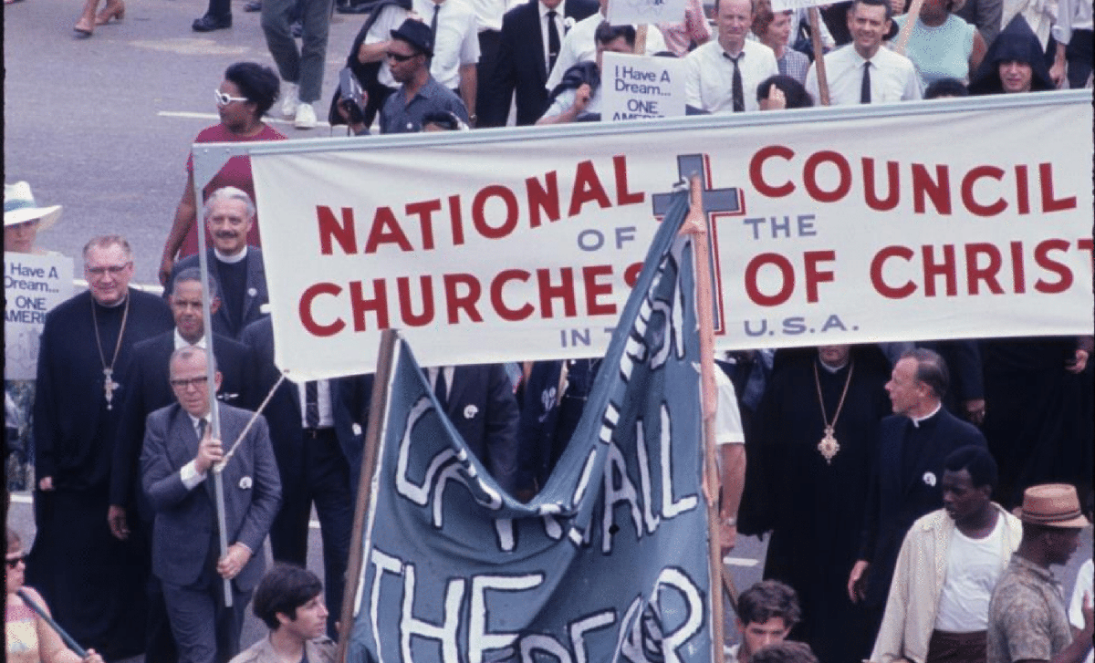 Poor People's Campaign march in 1968
