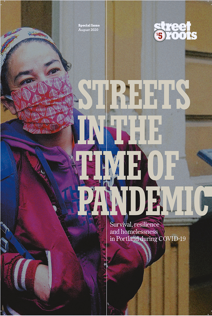 Cover of Street Roots' special publication