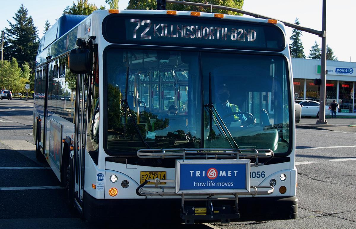 Line 72 bus