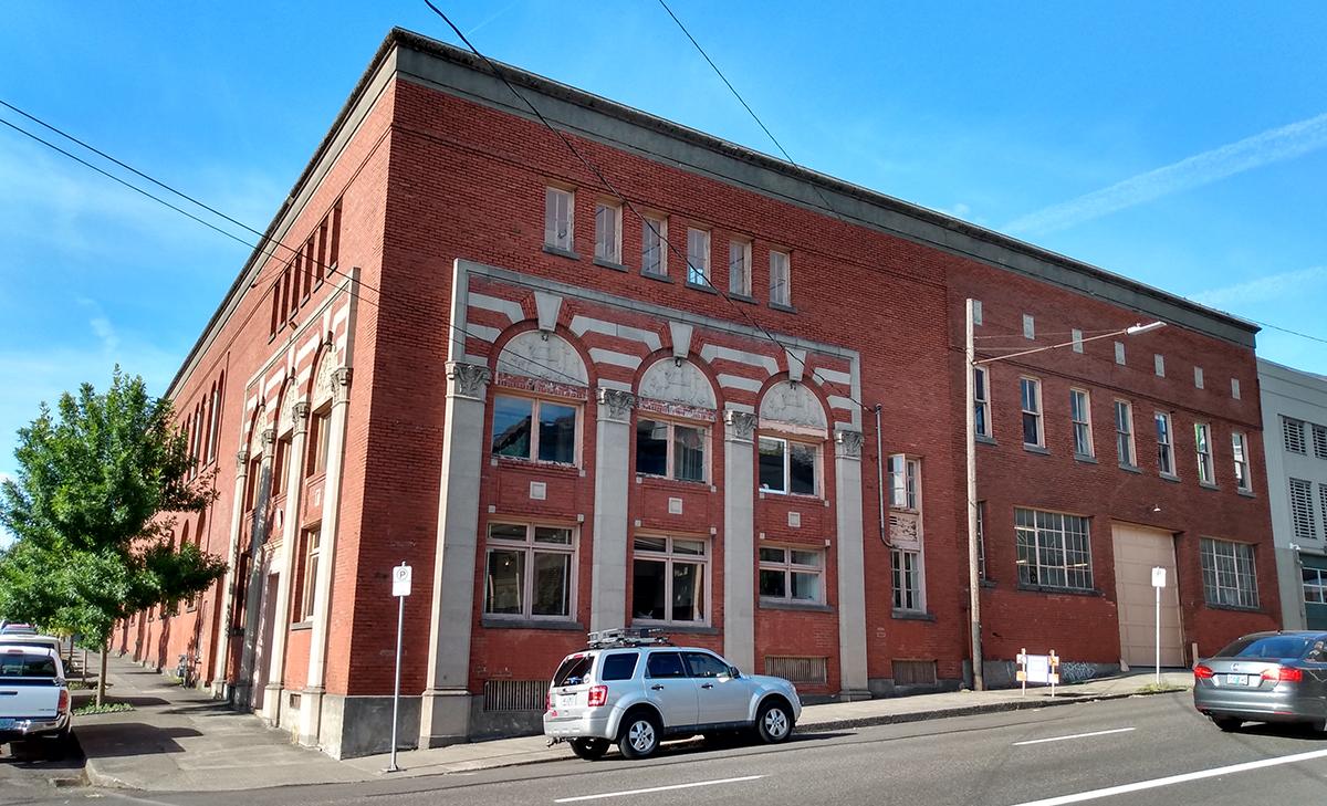 Yale Union Laundry Building exterior