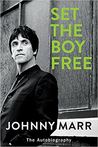 Cover of Johnny Marr's autobiography