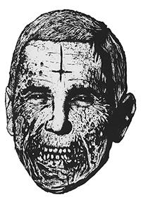 Pence zombie sticker