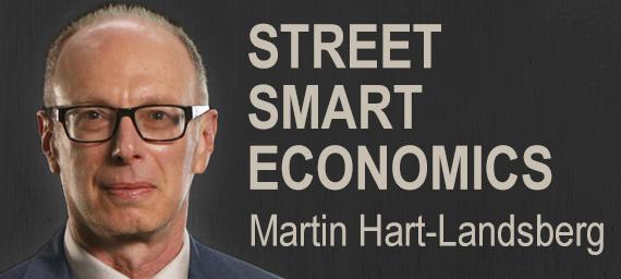 Street Smart Economcis logo with Martin Hart-Landsberg