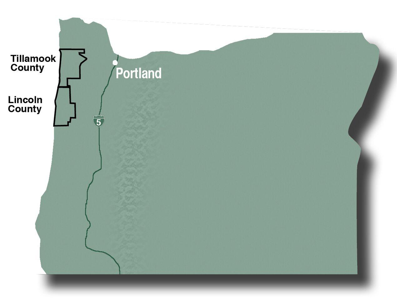 Tillamook_Lincoln_counties_map