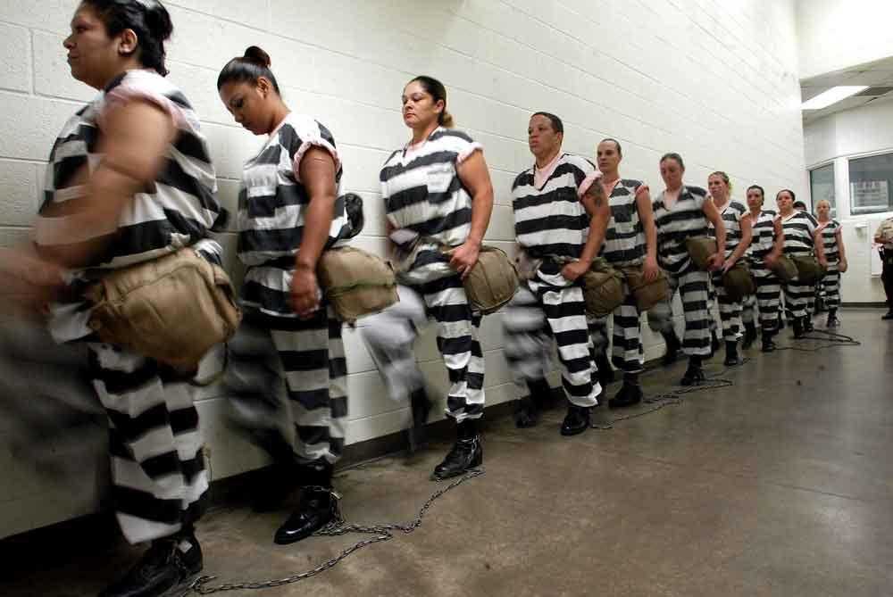 Chain gang in Phoenix