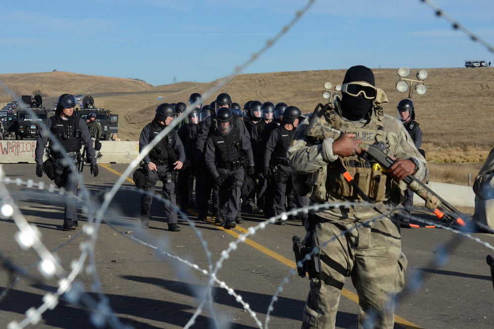 Standing Rock police standoff