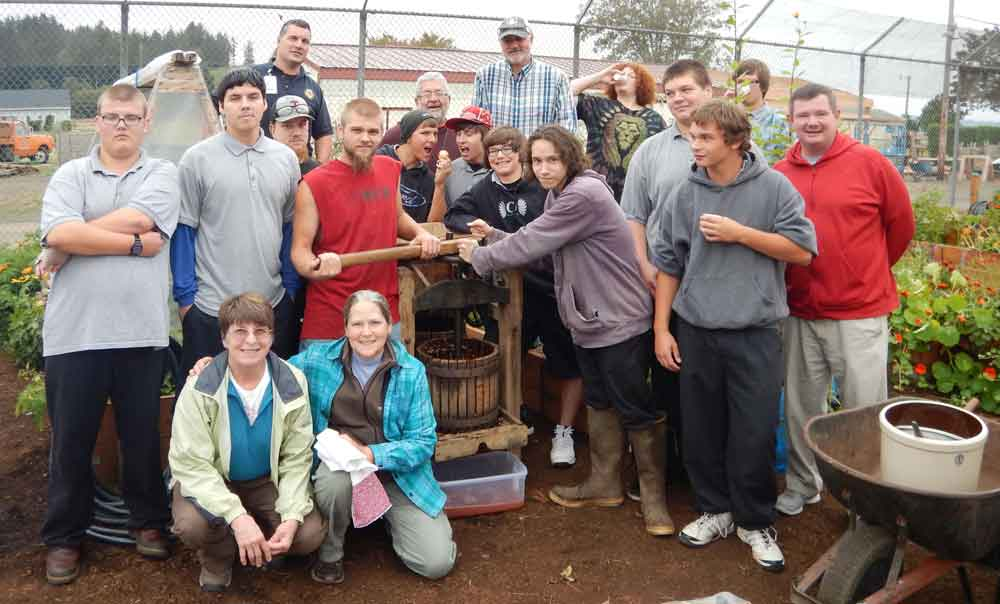 Tillamook Youth Correctional Facility youths and staff