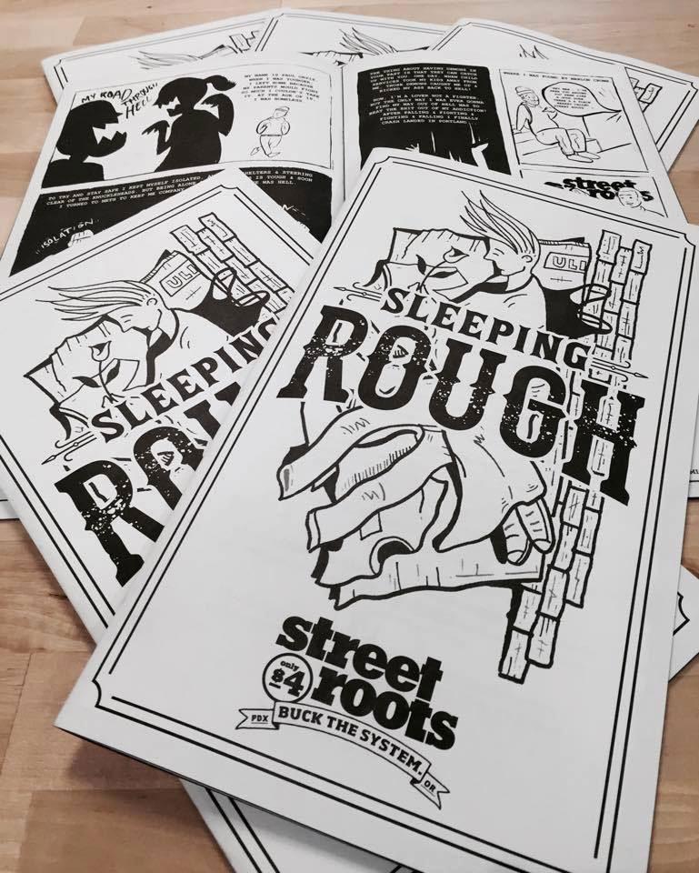 2016 Street Roots zine