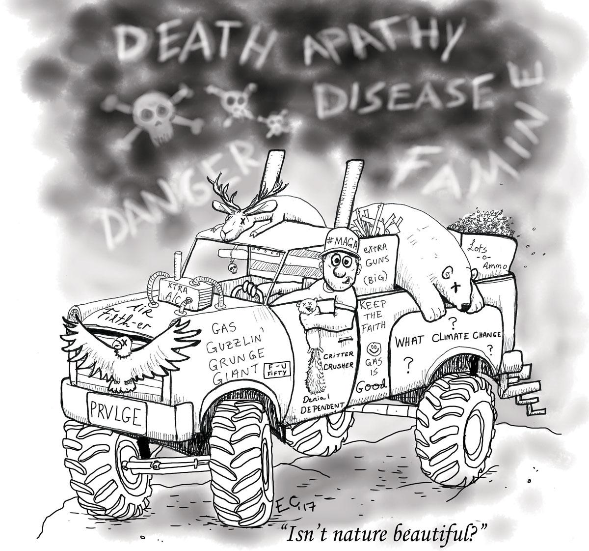 Sheeptoast editorial cartoon: June 9, 2017