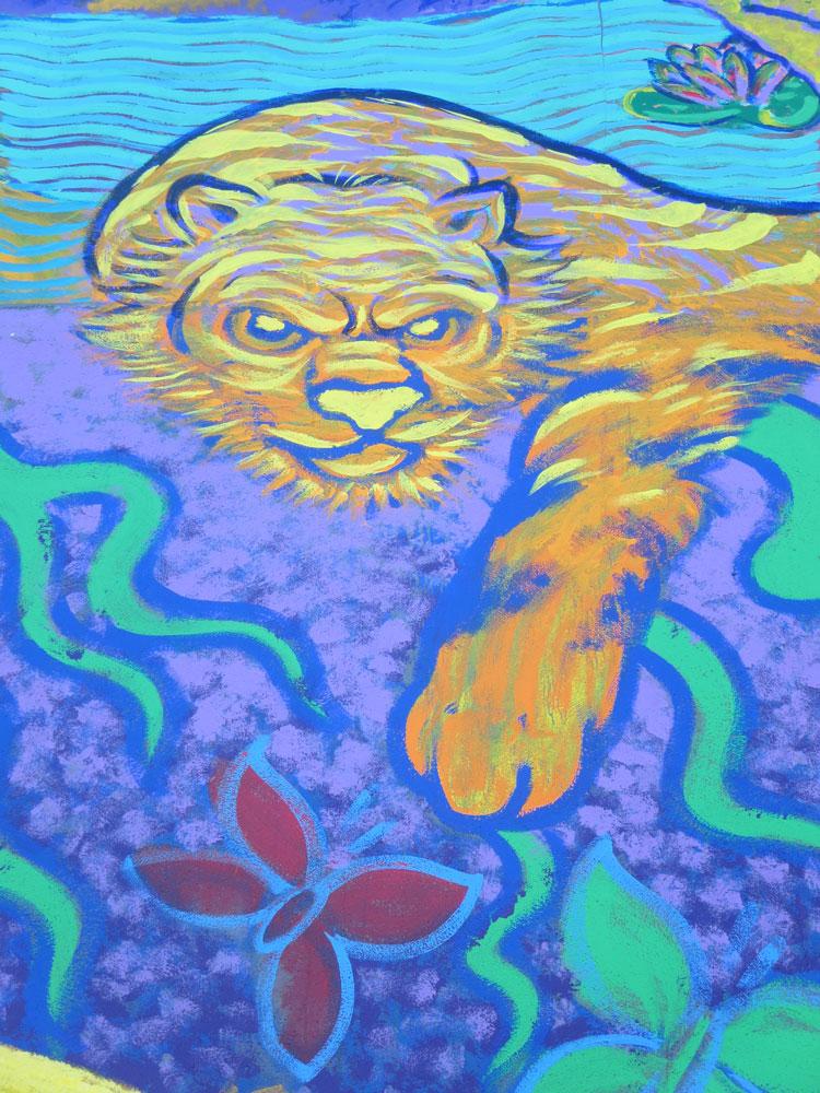Rudy Serna mural
