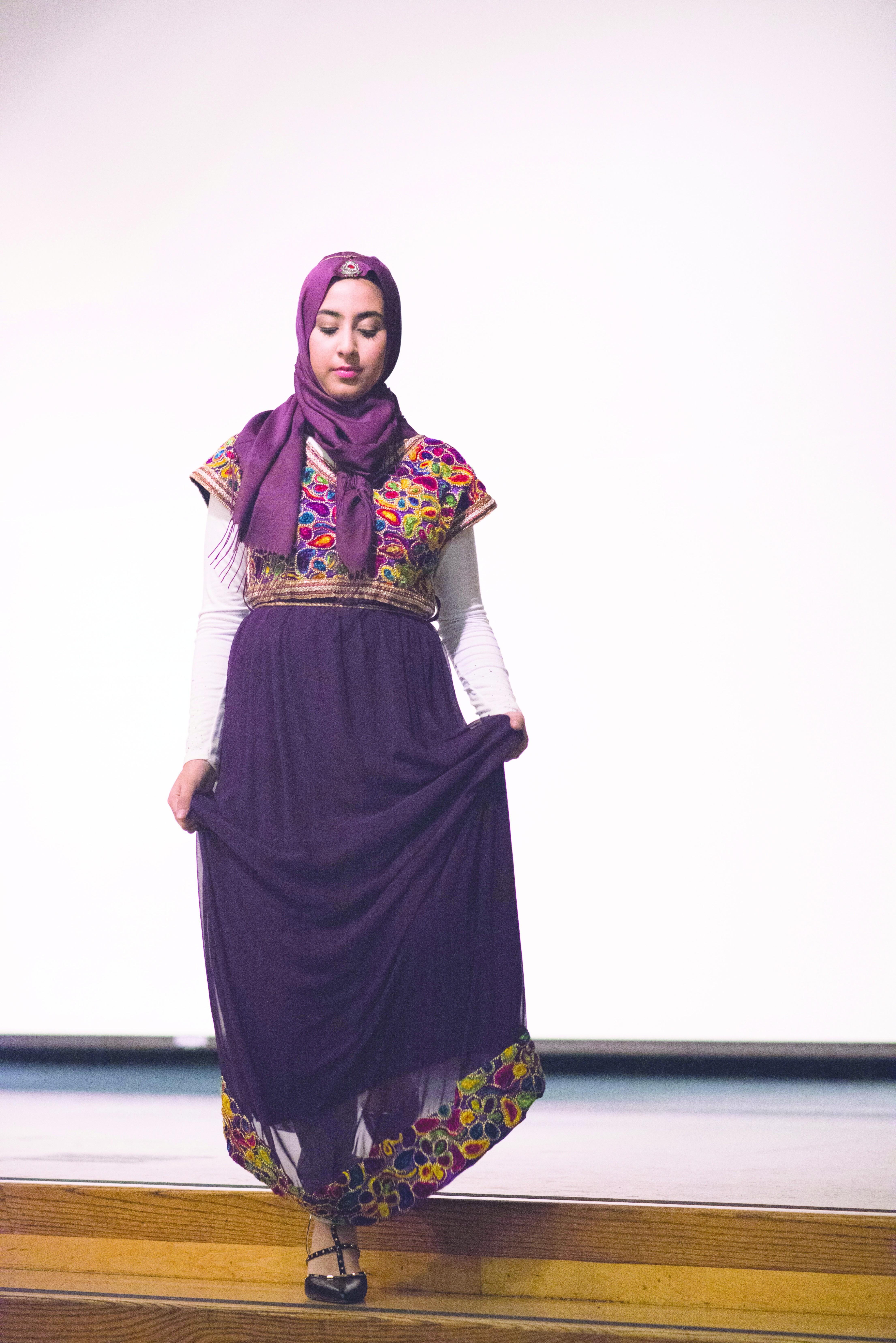 Malikah Festival fashion show