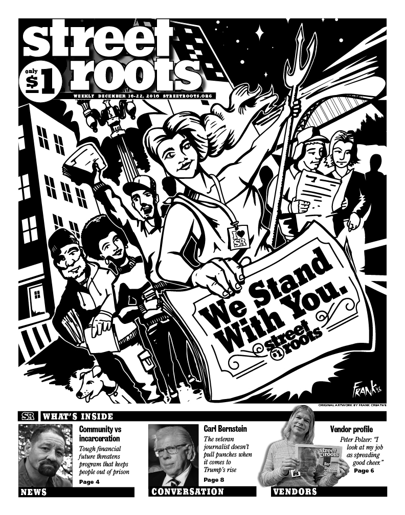 Street Roots Dec. 16, 2016, edition