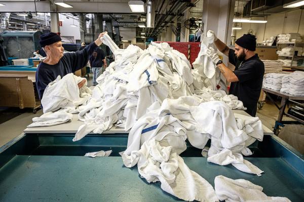 Oregon State Penitentiary laundry facility