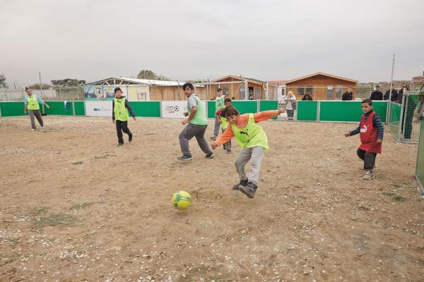 Soccer in Thessaloniki, Greece