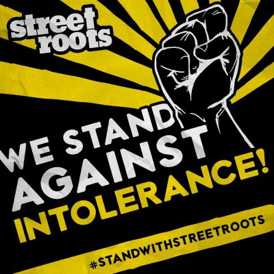 We stand against intolerance