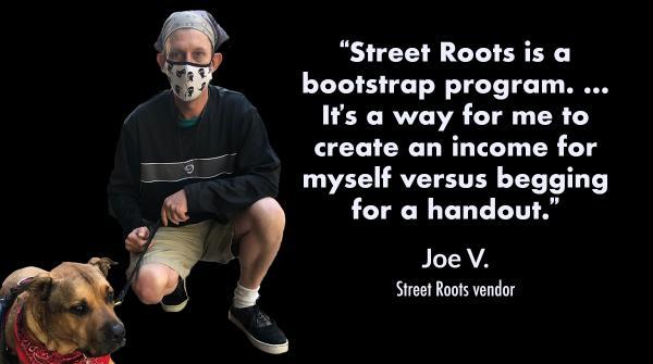Street Roots vendor Joe