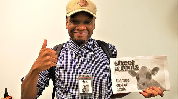 Street Roots vendor David