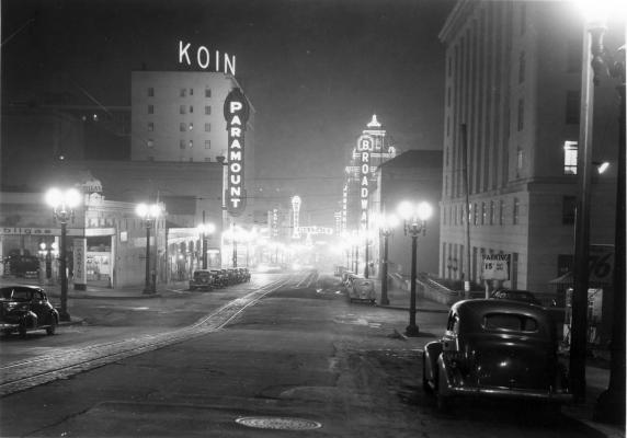 Downtown Portland, circa 1935