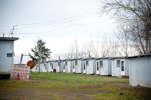 Migrant labor camp in Washington County, Oregon