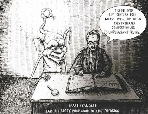 Editorial cartoon: July 14, 2017