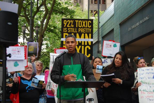 Protest of EPA's planned Superfund cleanup