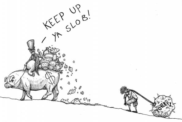 Sheeptoast editorial cartoon: March 17, 2017