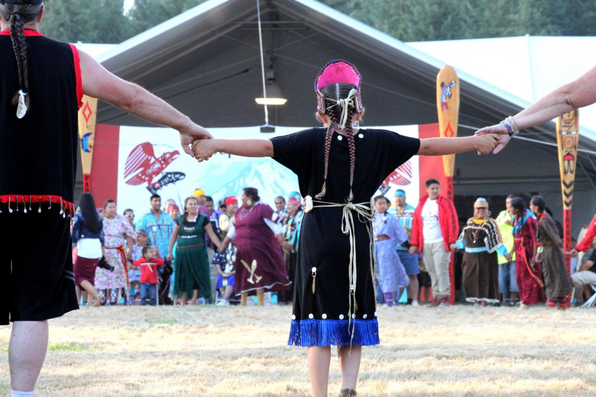 Paddle to Nisqually: A Native American cultural resurgence   Street
