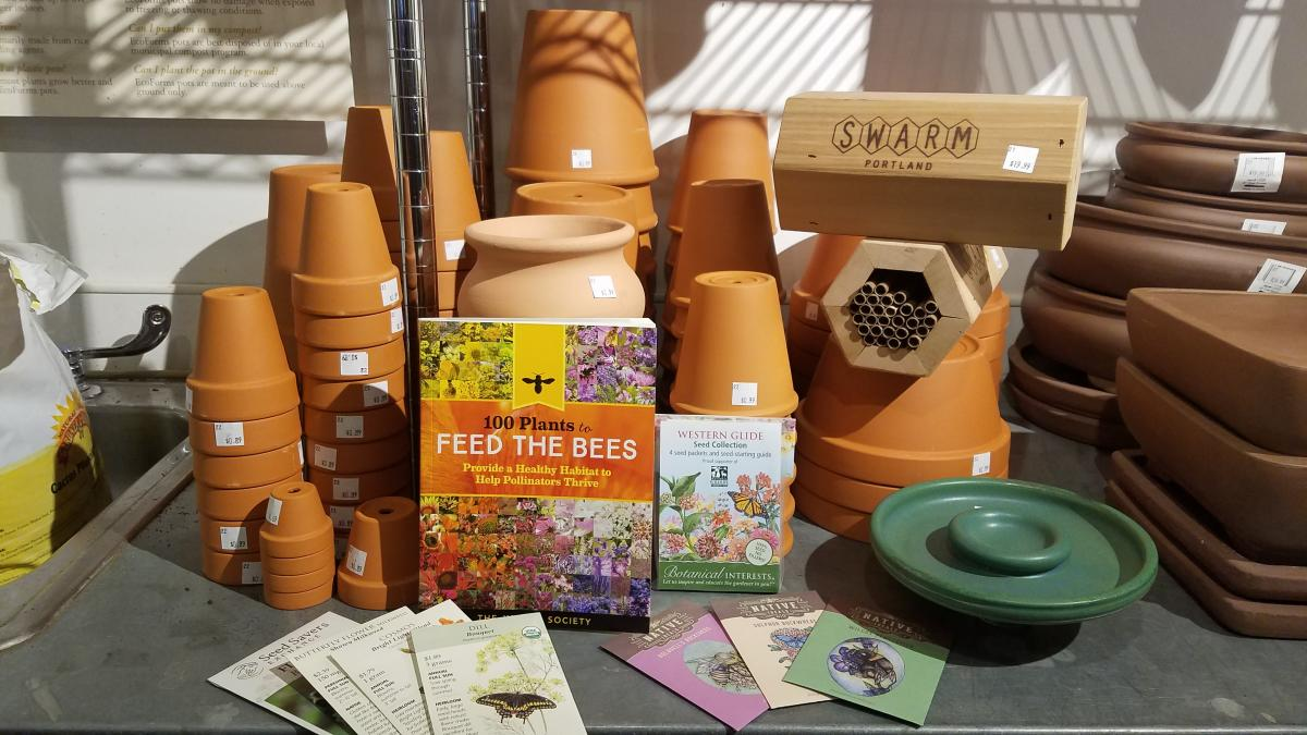 You Can Find Pollinator Garden Supplies At Most Neighborhood Nurseries.  Pictured Here, From Garden Fever In Northeast Portland: Native Plant Seeds  From ...