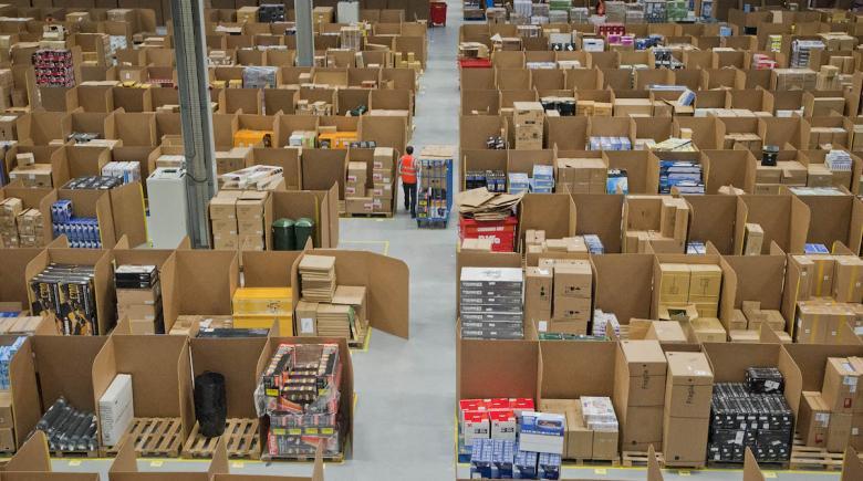 Amazon warehouse in Scotland