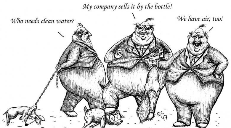 Sheeptoast editorial cartoon: March 31, 2017