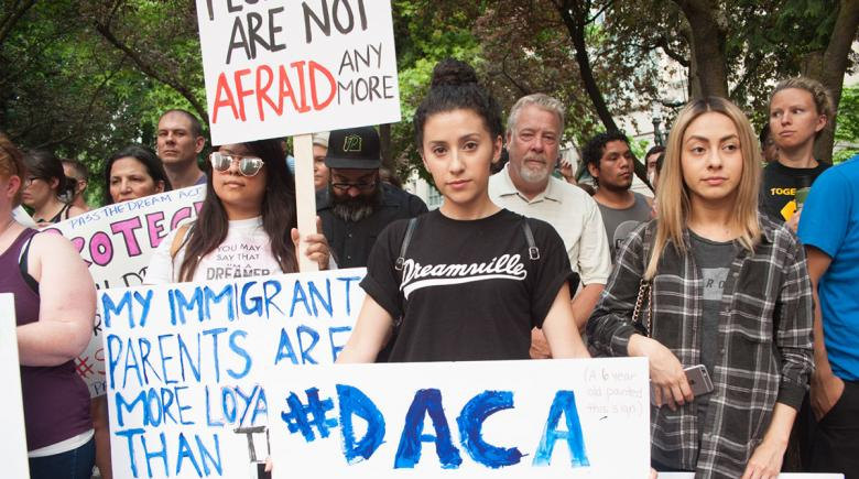 DACA rally in Portland