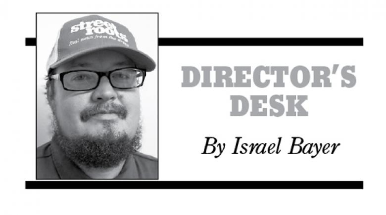 Director's Desk by Street Roots Executive Director Israel Bayer