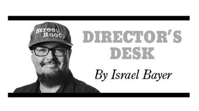 Director's Desk logo with Israel Bayer
