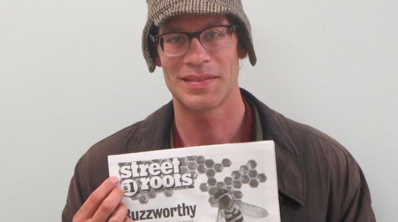 Street Roots vendor Drew