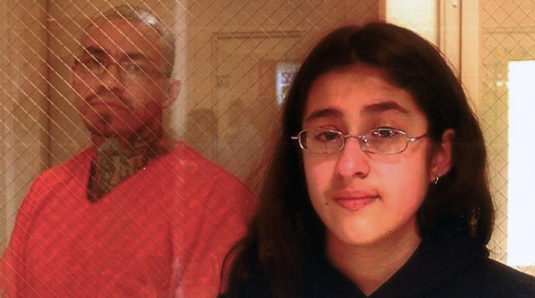 Enrique Bautista and his daughter