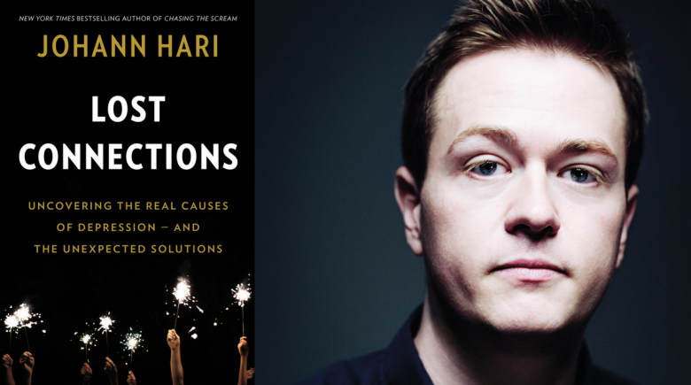 Johann Hari and his new book