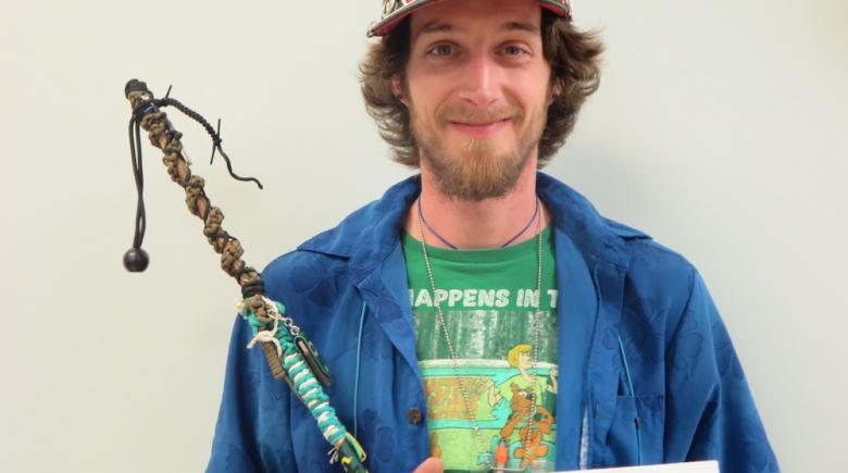 Street Roots vendor Shaggy