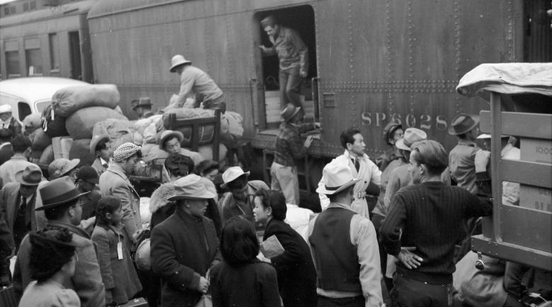 Japanese-Americans in Portland, 1942