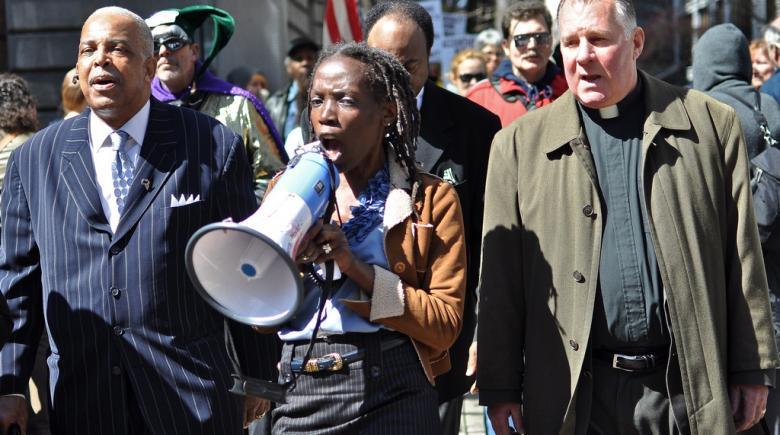 2012 Ron Frashour protest