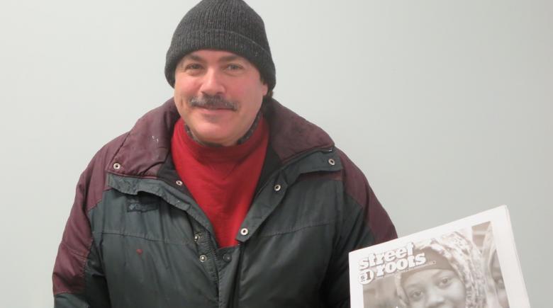 Street Roots vendor Kevin