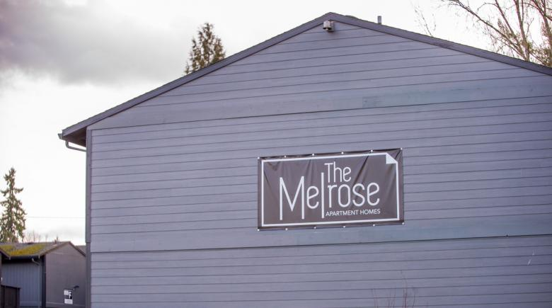 The Melrose apartments exterior
