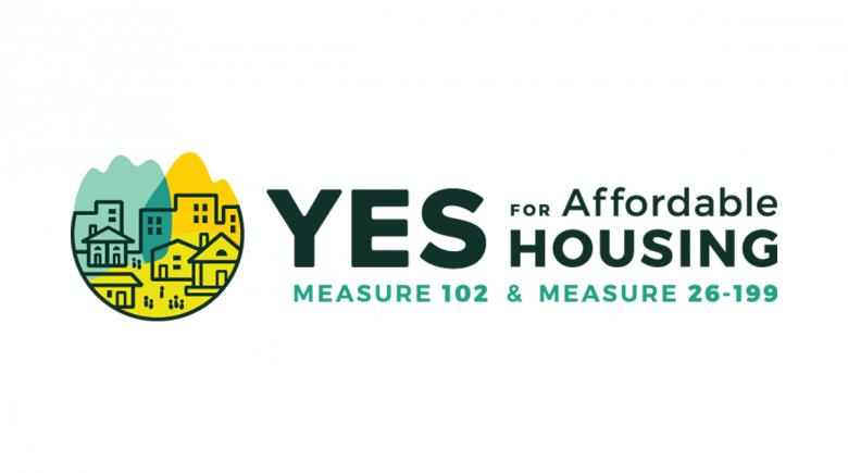 Yes for Affordable Housing campaign logo