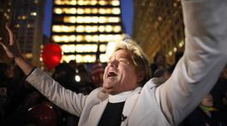 Reverend Billy at Occupy Wall Street